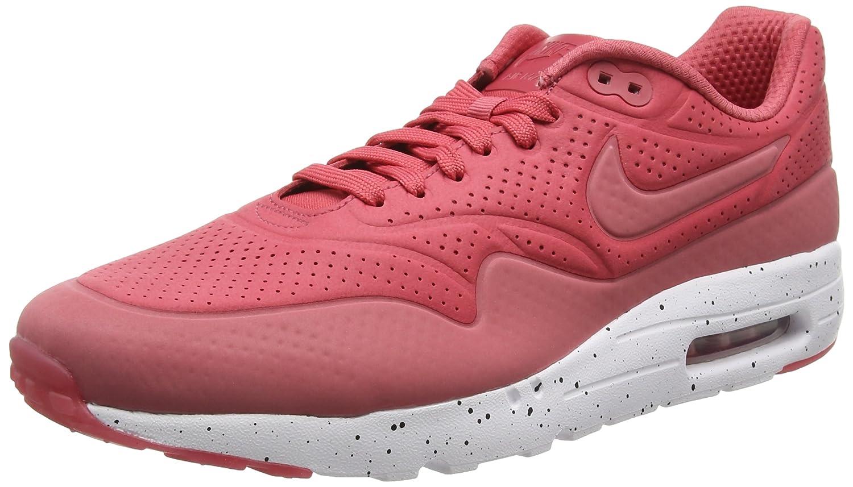 Nike Air Max 1 Ultra Moire, Zapatillas de Deporte para Hombre 42.5 EU Rojo (Rojo (Terra Red/Terra Red-white))