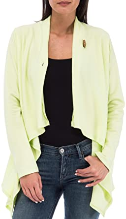 Bobeau One-Button Fleece Wrap Cardigan at Amazon Women's Clothing ...