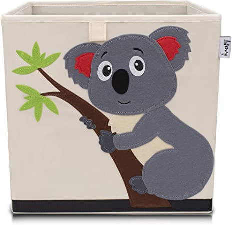 LIFENEY baul Juguetes I una práctica Caja de Almacenamiento para Cada Cuarto de niños I baul Juguetes Infantil I Caja Juguetes (Koala Beige): Amazon.es: Hogar
