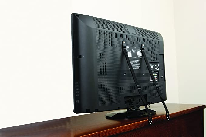 Dreambaby Correas de seguridad para muebles o TV, 2 piezas, negra: Amazon.es: Bebé