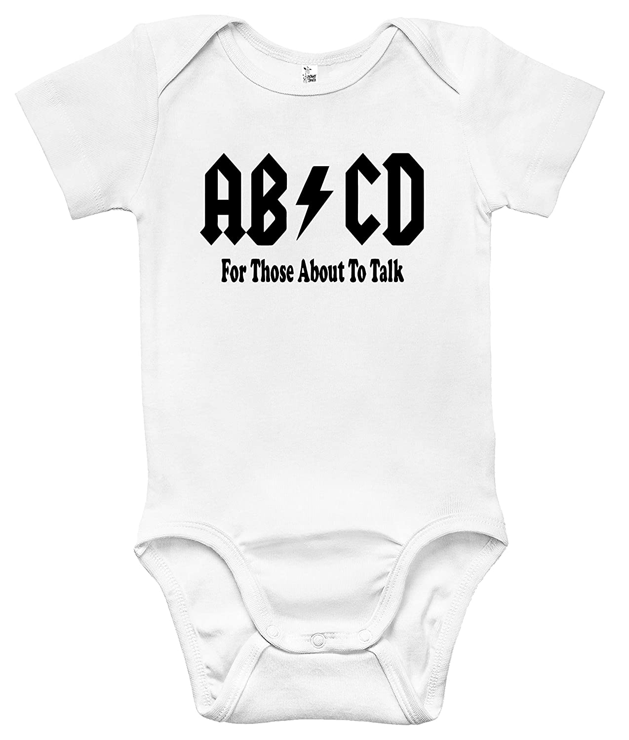 Amazon.com: AB/CD body for Those About To Talk Baby Cute ...