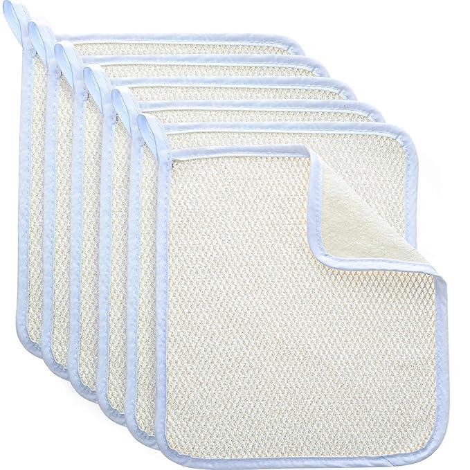 Details about  /Rub Viscose Fiber Exfoliating Bath Towel Washcloth Bath Glove Shower Scrubber