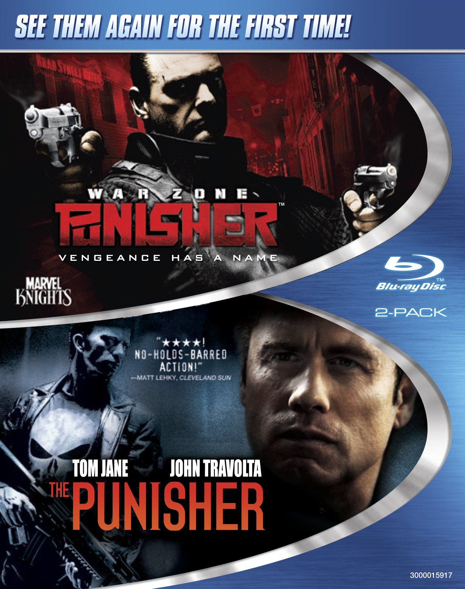 Blu-ray : The Punisher / Punisher: War Zone (Widescreen, 2 Disc)