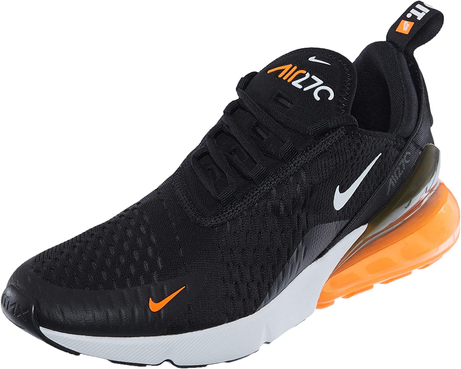 Amazon Com Nike Air Max 270 Ah8050 011 Black Volt Men S Running