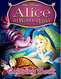 Alice In Wonderland Coloring Book Dover Classic Stories Coloring