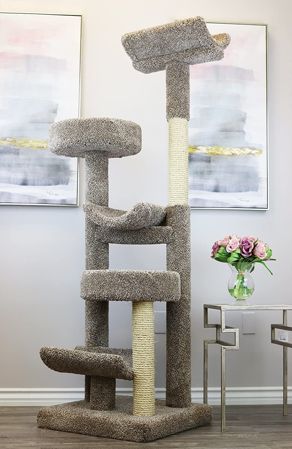 Top 10 Best Cat Tree For Large Cats [Updated November 2020] 5
