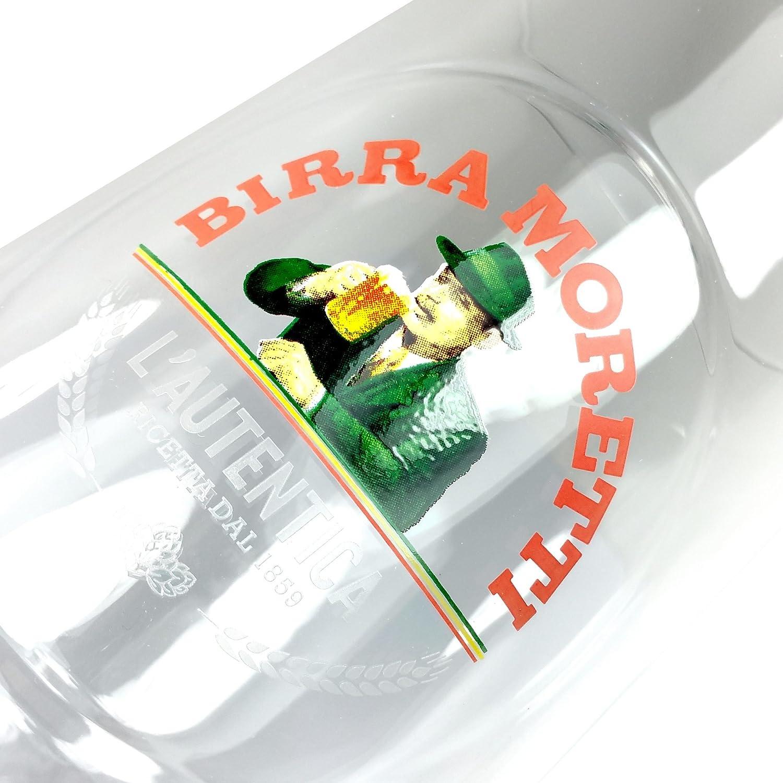 TUFF LUV Urspr/üngliche Bierglas//Gl/äser // Barbedarf Birra Moretti F/ür 50cl
