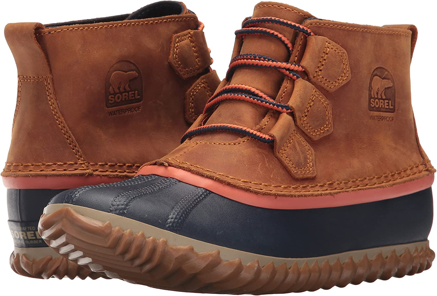 Sorel Womens Out N about Leather Snow Boot