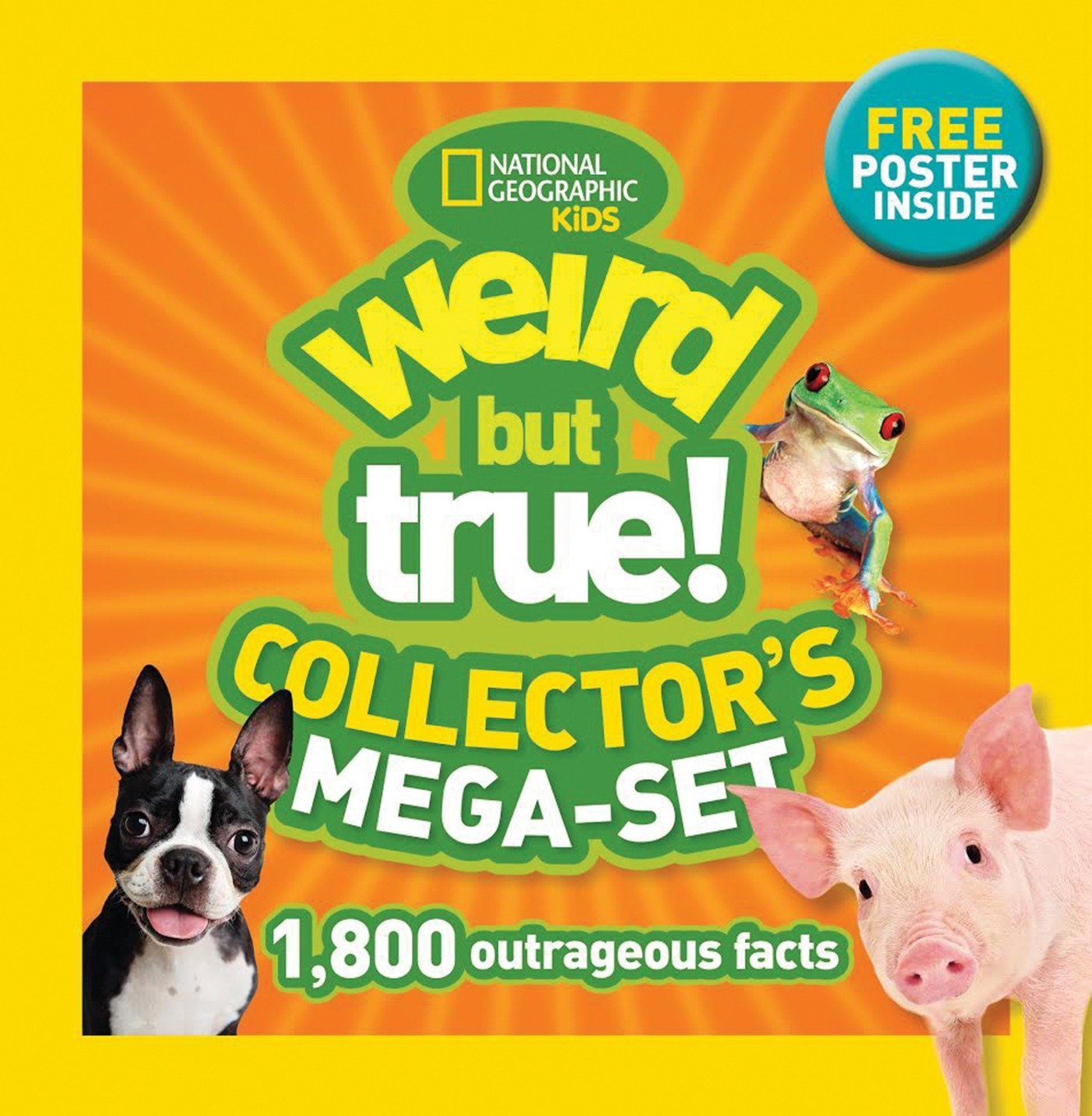 Download Weird but True! Collector's Mega-set: 1,800 Outrageous Facts pdf