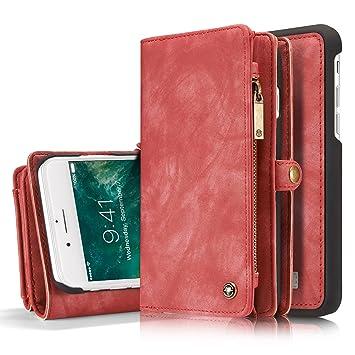 WiTa-Store Wallet und Geldbörse für Apple iPhone 8 Plus 5.5 Zoll - 2in1  Geldbeutel 221c5d1406
