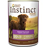 Instinct Grain Free Natural Wet Canned Dog Food by Nature's Variety