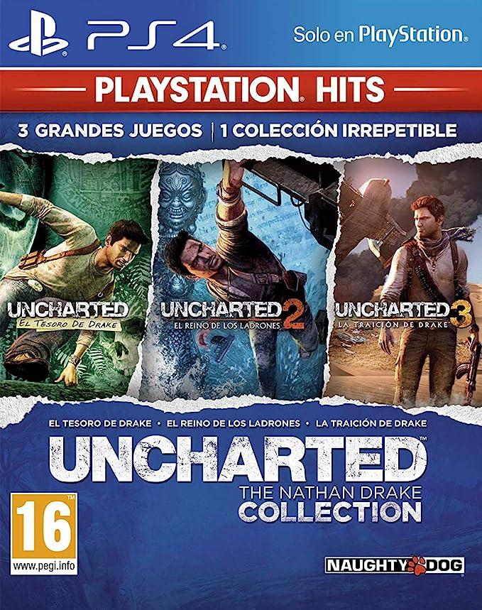 Uncharted Collection Hits - Versión 17: Amazon.es: Videojuegos