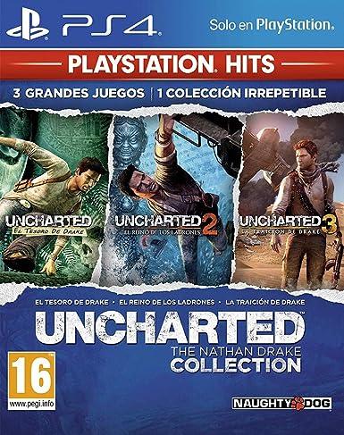 Uncharted Collection Hits - Versión 17: PlayStation 4: Amazon.es ...