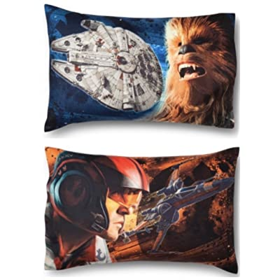 Jay Franco Star Wars Ep 8 Resistance Pillowcase Gray: Home & Kitchen