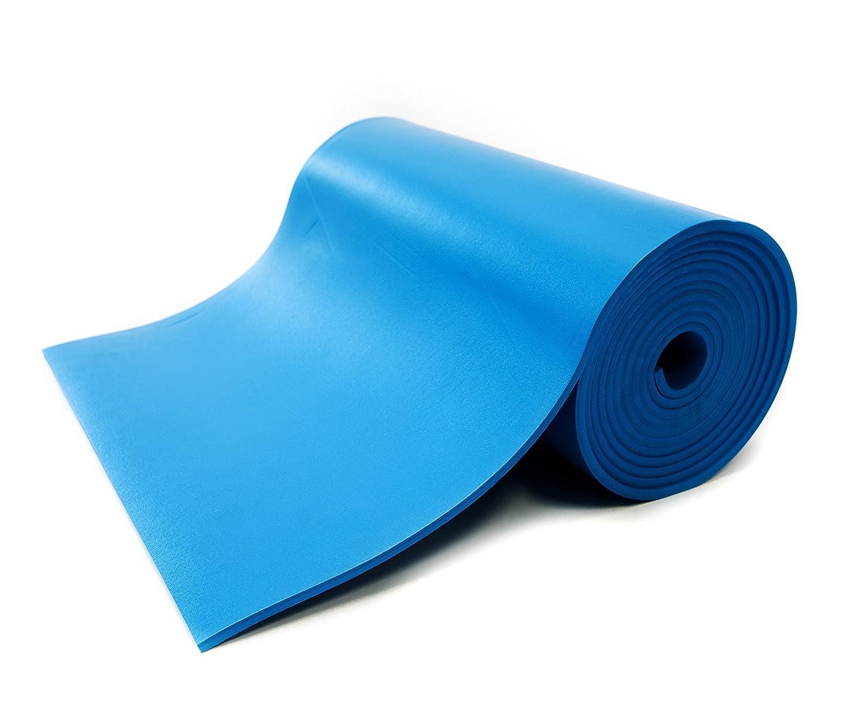 """Bertech Anti Static High Temperature Rubber Mat Roll 2/' Wide x 10/' Long x 0.08/"""""""