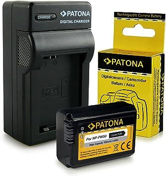 Cargador + Batería NP-FW50 para Sony NEX-3 | NEX-3A | NEX-3D |
