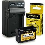 Chargeur + Batterie NP-FW50 pour Sony NEX-3 | NEX-3A | NEX-3D | NEX-3K | NEX-5 | NEX-5A | NEX-5D | NEX-5H | NEX-5K | NEX-6 | NEX-7 | Sony Alpha: 33 (SLT-A33) | 37 (SLT-A37) | 55 (SLT-A55)