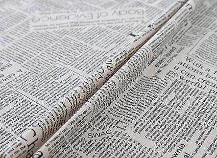 Mantel País Creatividad Letras En Inglés Periódico Algodón Servilleta Toalla De Té Accesorios De Tiro Multi