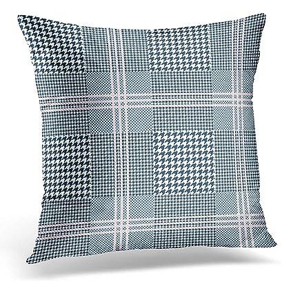 Wondrous Amazon Com Starobos Throw Pillow Covers Tartan Glen Plaid Ibusinesslaw Wood Chair Design Ideas Ibusinesslaworg