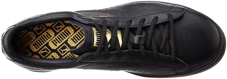 Puma Zapatos De Cuero Negro India Gifo0EL2Xj