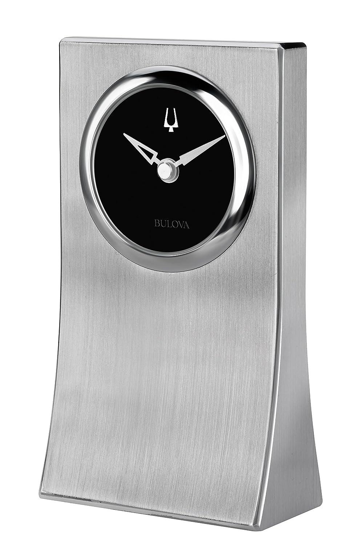 Bulova Obelisk Desk Clock, Silver/Tone Bulova Canada B5002
