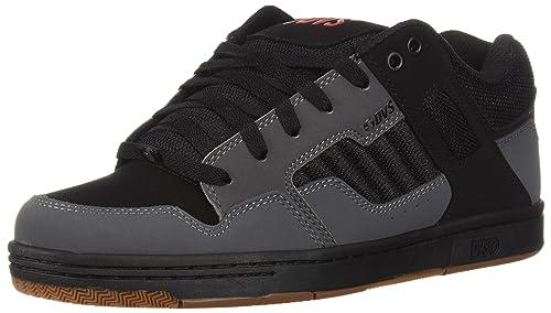 DVS Celsius, Zapatillas de Skateboard para Hombre, Gris (Grey Black Nubuck 029), 45 EU DVS