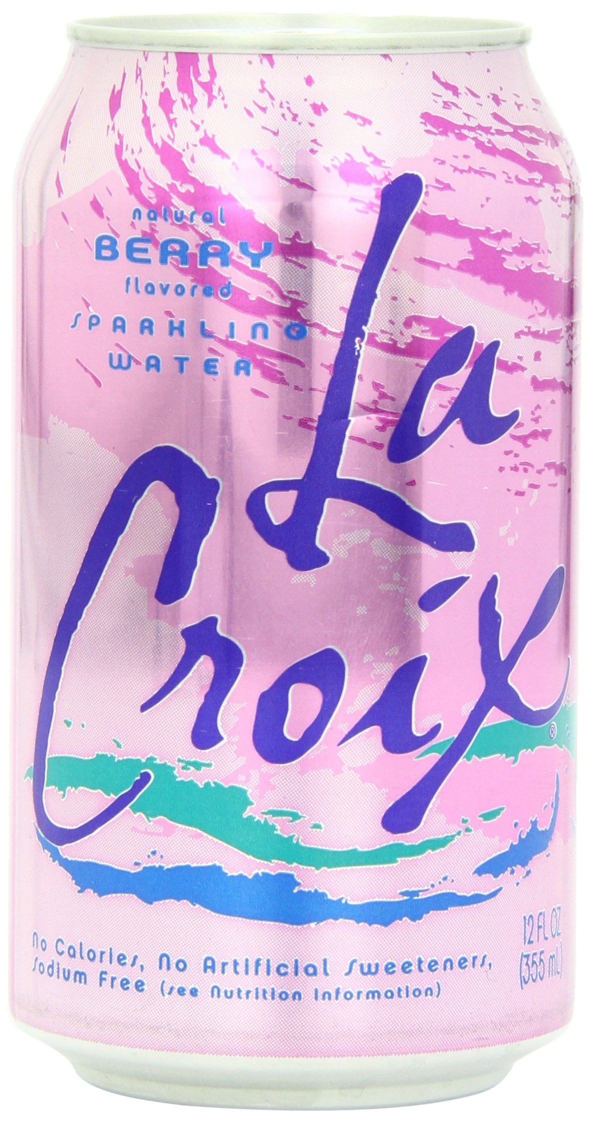 La Croix Sparkling Water, Berry, 12-Ounce Cans (Pack of 24)