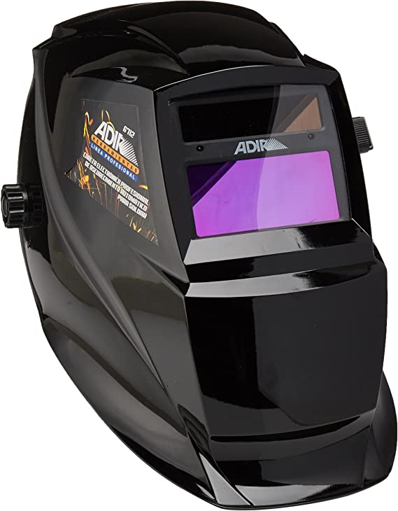 Adir 6712 Careta Electronica Prof color Negra