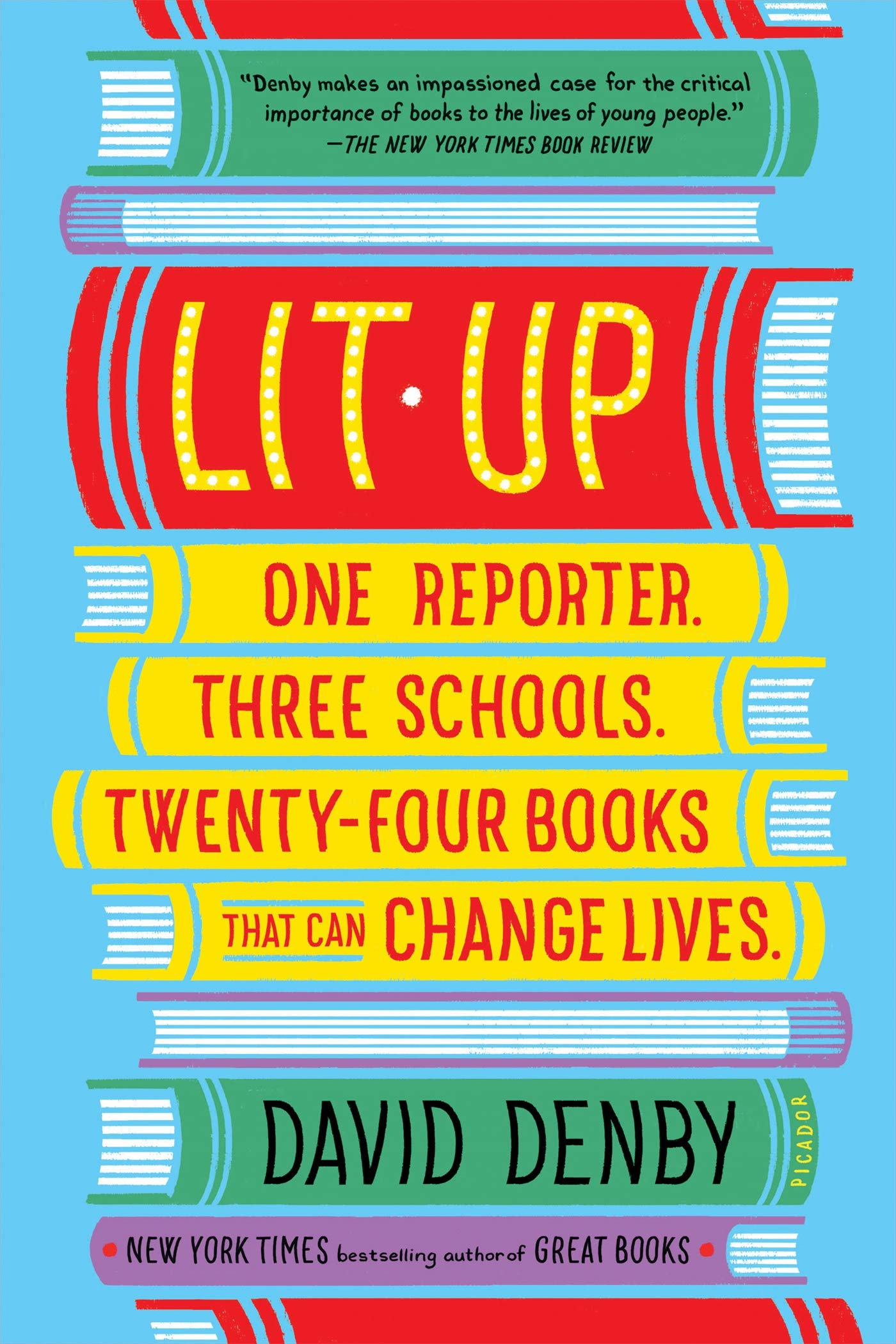 One Reporter. Three Schools. Twenty-four Books That Can Change Lives.