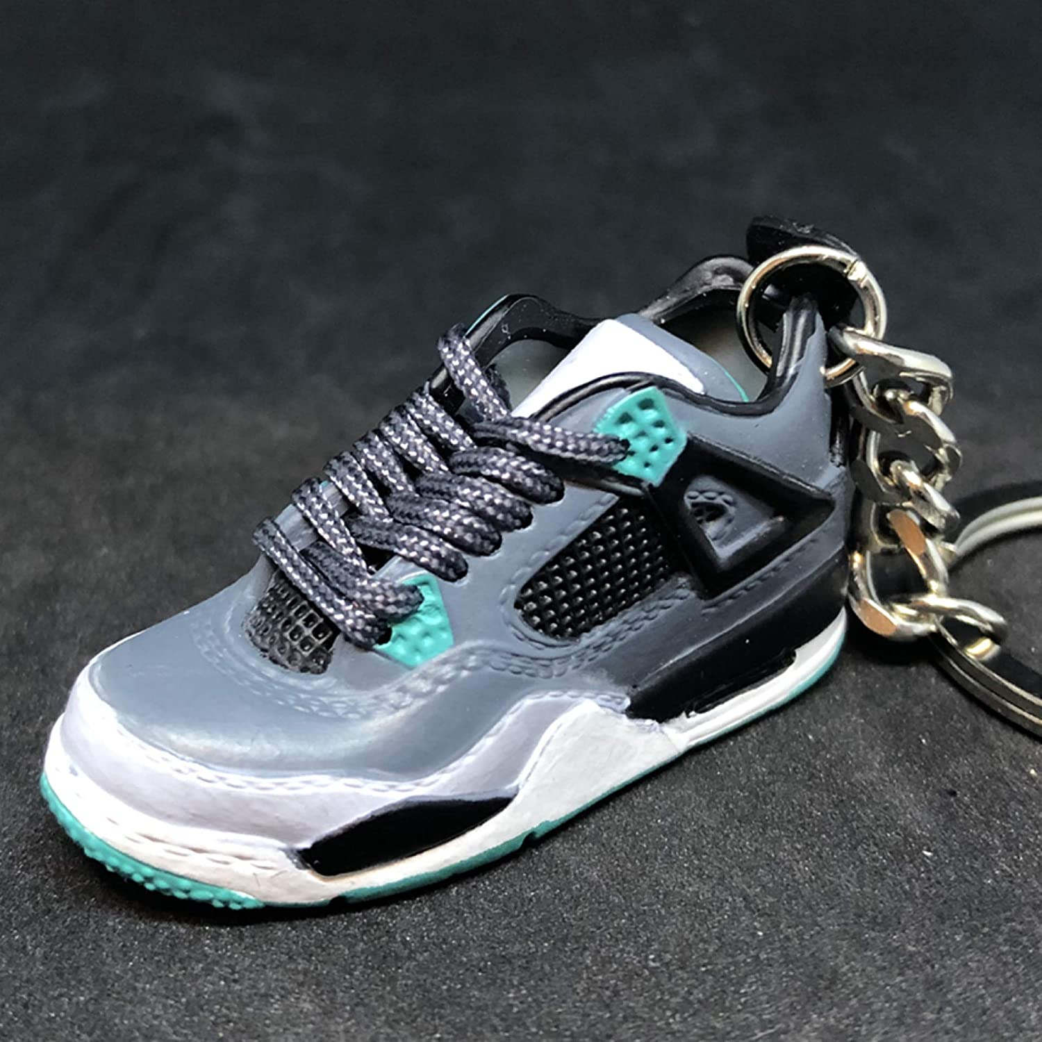 purchase cheap 12931 fe5f8 Amazon.com : Air Jordan IV 4 Retro Green Glow OG Sneakers ...