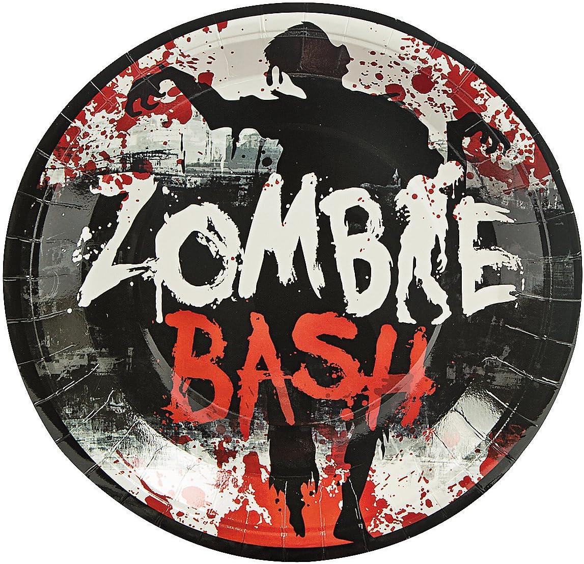 Zombie Paper Plates