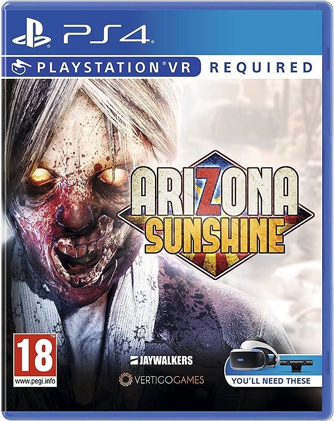 casque vr ps4 avec jeux zombies