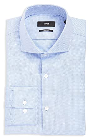e31074898 Amazon.com: Hugo Boss Men's Mark Sharp Fit Dress Shirt: Clothing