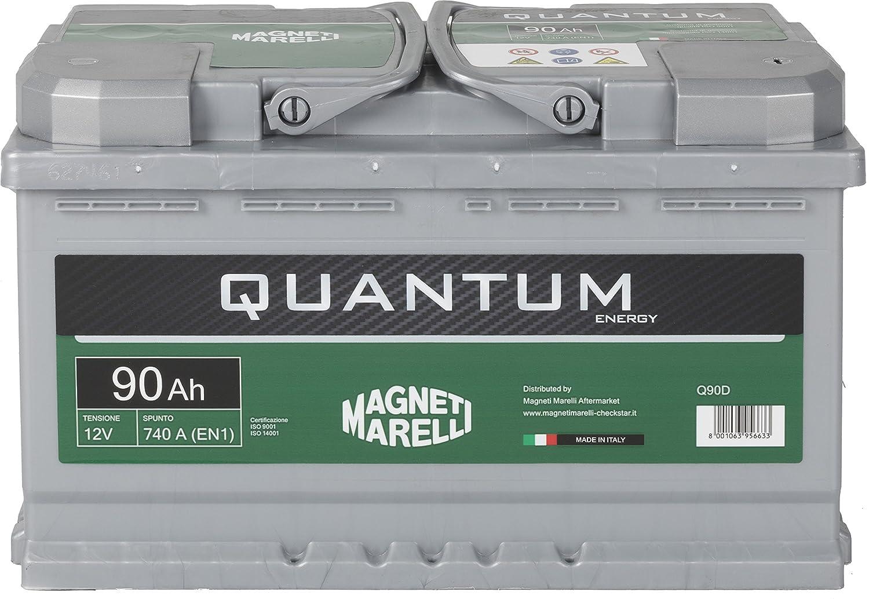 Quantum Marelli L4 Batteria Auto 90AH 740A 12V Altri marchi