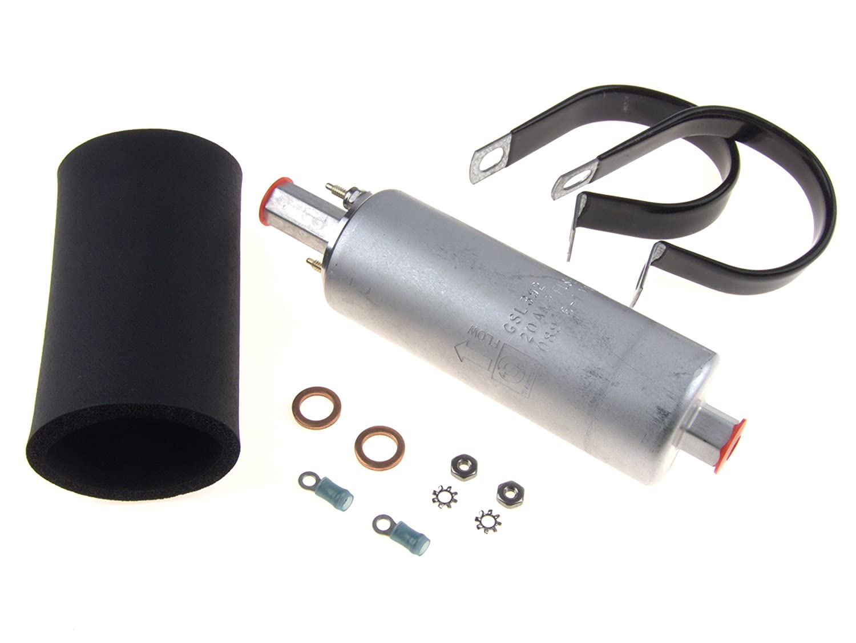 Walbro Gsl392 400 939 Inline Fuel Pump 255lph High Fiat Pressure Diagram Universal External Automotive