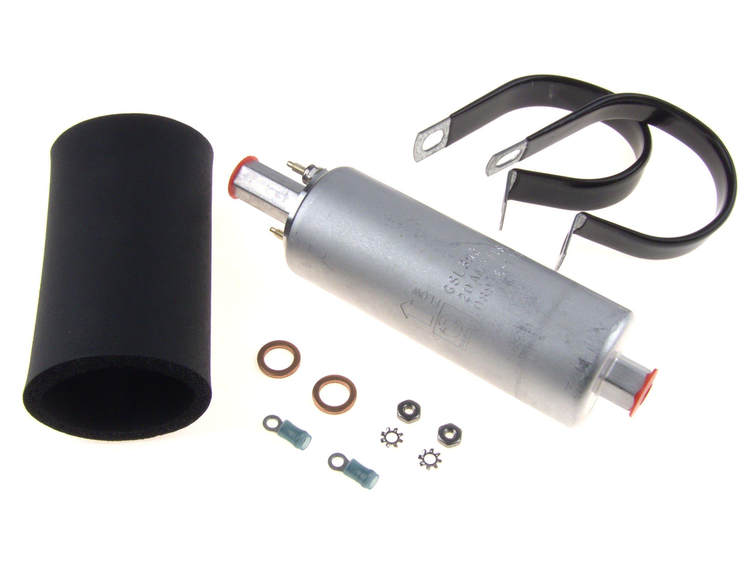 Walbro GSL392-400-939 Inline Fuel Pump 255LPH HIGH PRESSURE (Universal External Pump) by Walbro