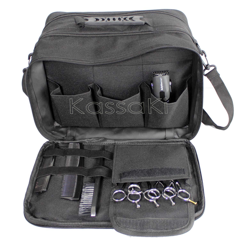 Kassaki Pro Hairdressing Tool Carry Hair Equipment Salon Storage Travel Bag Case