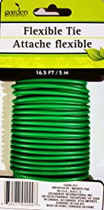Green Garden Flexible Tie, 16.5 Ft.