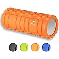 BODYMATE Faszienrolle mit GRATIS E-Book - Classic - Foam-Roller zur Triggerpunkt-Selbst-Massage - Massage-Rolle für myofasziales Training - Faszien-Rolle für Verklebungen und Muskelbeschwerden