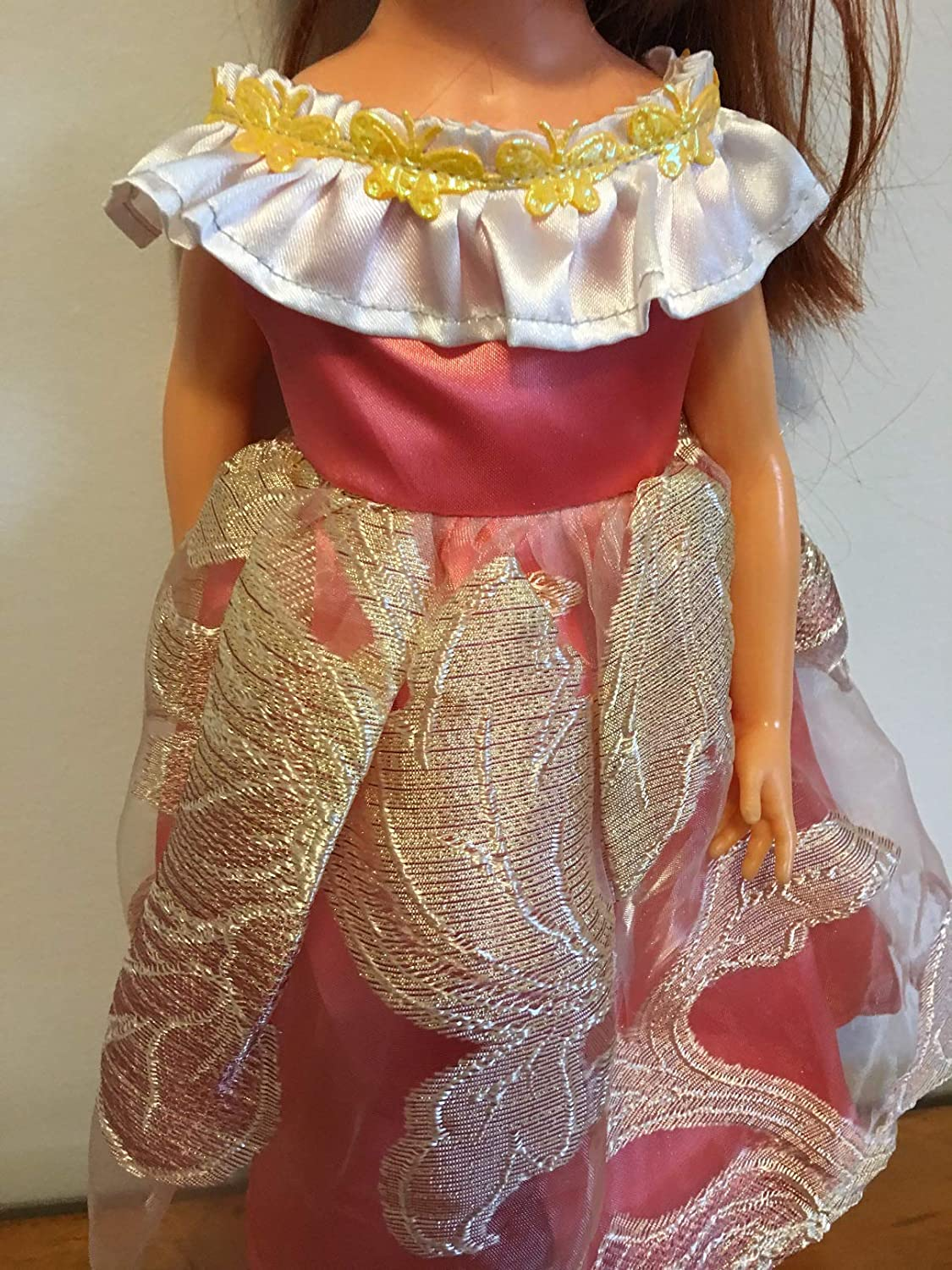 Fits 18 Ideal Crissy Doll Clothes Holiday Princess Historical Dress Handmade Costume NO DOLL