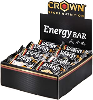 Crown Sport Nutrition 18 x Energy Bar (60g), Barritas de avena energéticas sin