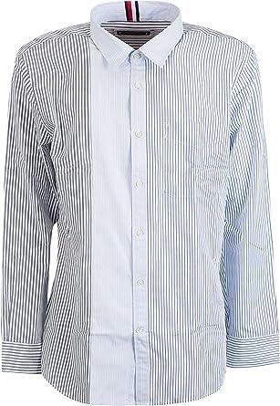 Tommy Hilfiger Luxury Fashion Hombre RE0RE00234901 Azul Claro Camisa | Temporada Outlet: Amazon.es: Ropa y accesorios