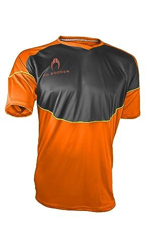Ho soccer Legacy Camiseta de Portero Manga Corta, Hombre, Naranja/Negro / Lima