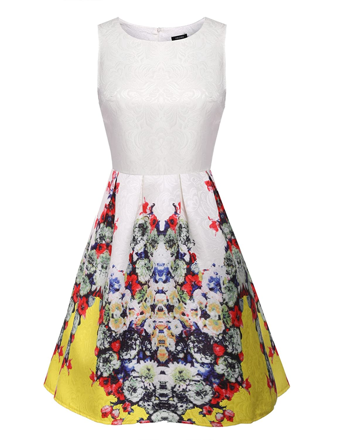5eed658f33cf Vintage Floral Dress Amazon
