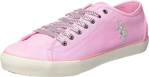 U.S.POLO ASSN. Terry, Zapatillas para Mujer: Amazon.es: Zapatos ...