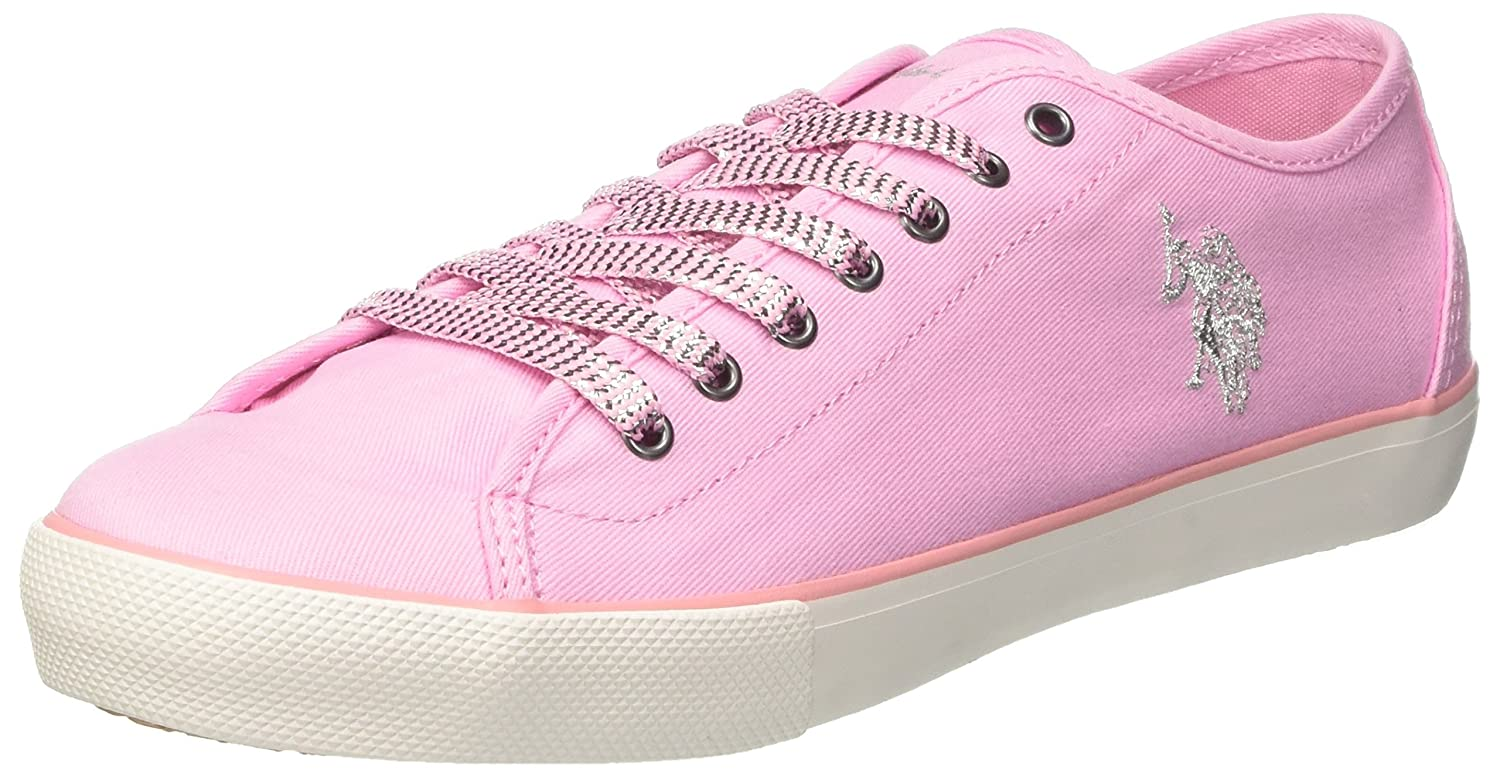 U.S.POLO Baskets ASSN. Terry, Baskets Pink) Femme Rose (Pink ASSN. Pink) dedadbf - boatplans.space