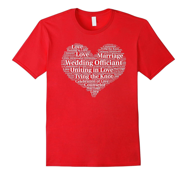 Wedding Officiant Appreciation Thank You Shirt-TH