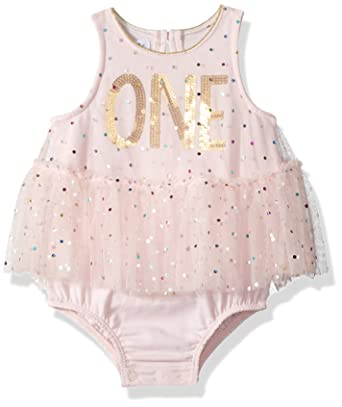17467a22887c Amazon.com  Mud Pie Baby Girls First Birthday Tutu One Piece ...