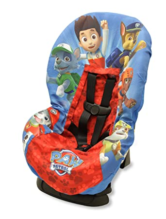 Paw Patrol Car Seat Cover Blue Red