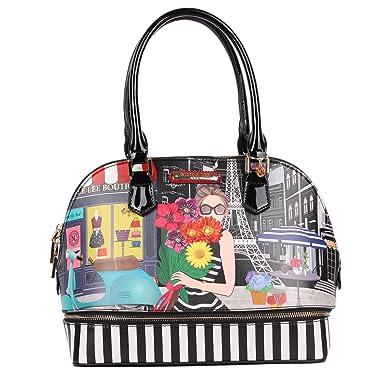 Nicole Lee Women s Ciel Smart Lunch Handbag (a Day in Paris) Travel  Shoulder Bag 8a14f68948
